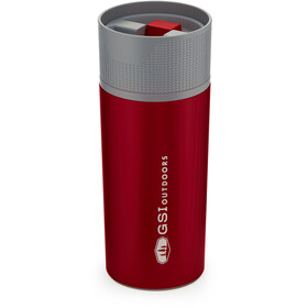 GSI Glacier Stainless Commuter Mug 500ml, red
